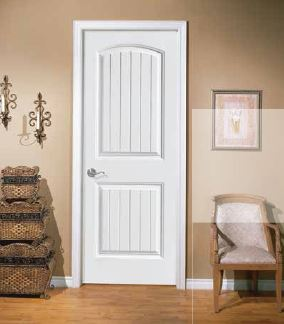 2-Panel Cheyenne Smooth & Interior Moulded Doors - Normu0027s Bargain Barn