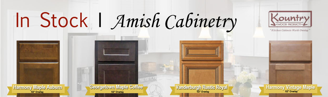 Instock Amish Cabinets Norm S Bargain Barn