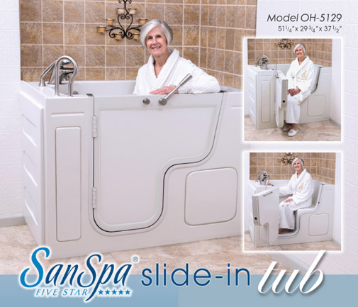 shower bathtub walk a insert access through into your handicap tub turn accessible step in
