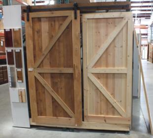 Barn Door 1 2