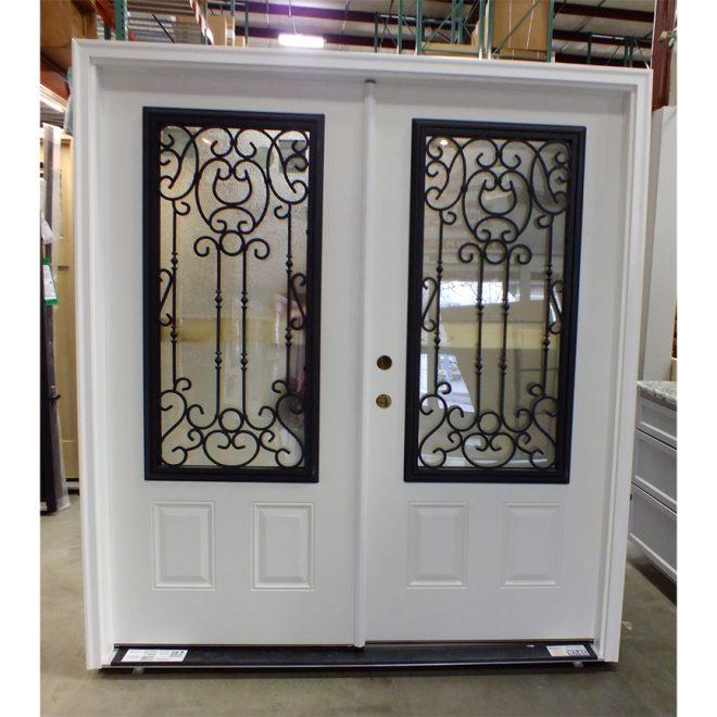 Masonite Steel Double Entry Door With